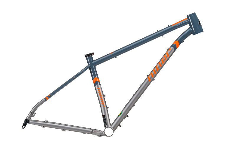SIR 9 FRAME-SLATE BLUE/ORANGE