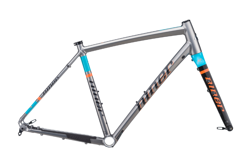 RLT 9 FRAME-FORGE GREY/ORANGE/TEAL