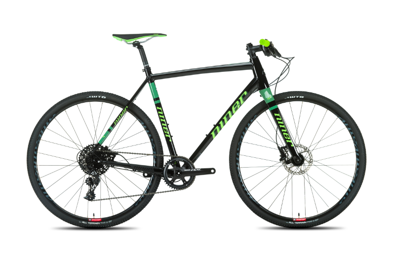 RLT 9 FLATBAR 1-STAR BLACK/GREEN